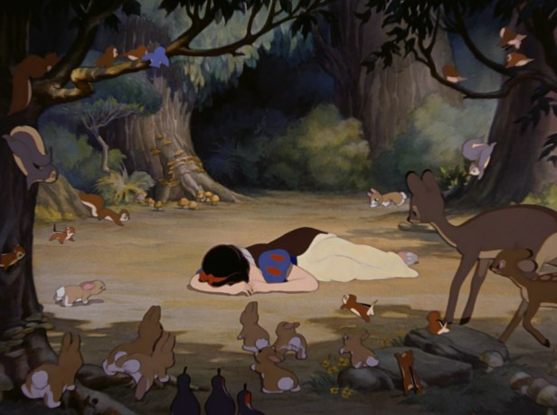 Image result for snow white in the woods